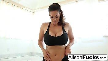 Stepmom Angelina is a big tall woman&period
